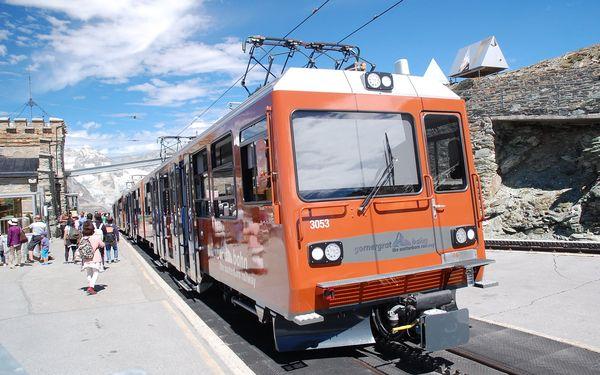Nejkrásnější motivy Alp Arlberskou drahou a trasou Bernina a Glacier Expressu, vlakem, strava dle programu5