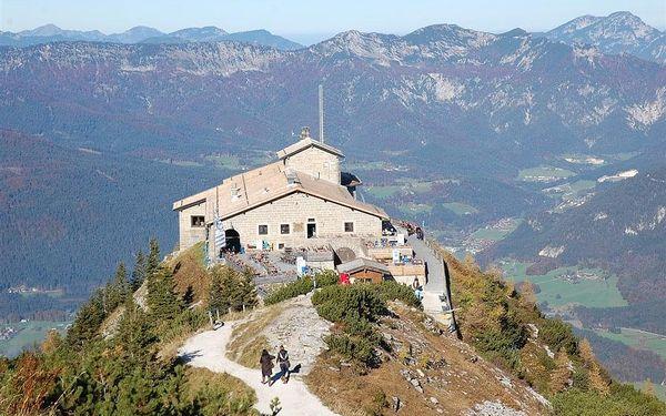 Berchtesgadenské Alpy s návštěvou Mnichova, autobusem, snídaně v ceně2