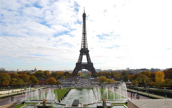 Paříž a zámky na Loiře (autobusem), Paříž, autobusem, snídaně v ceně4