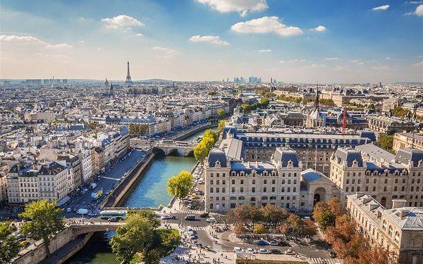 Na skok do Paříže, Paříž, autobusem, snídaně v ceně3