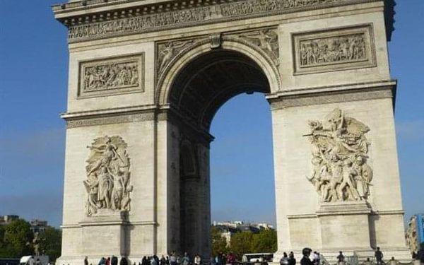 Na skok do Paříže, Paříž, autobusem, snídaně v ceně5