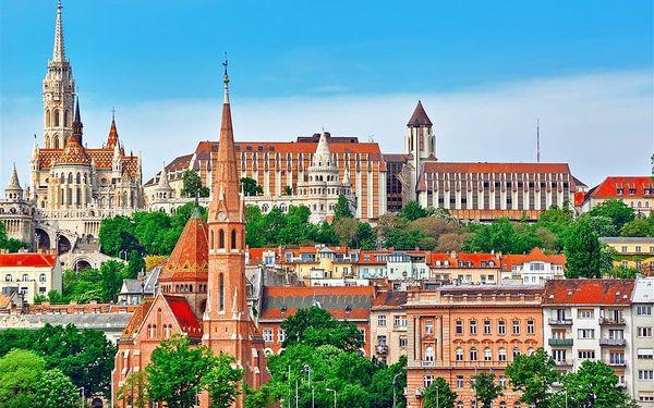 Nejslavnější metropole na Dunaji – Bratislava, Budapešť a Vídeň, autobusem, snídaně v ceně5