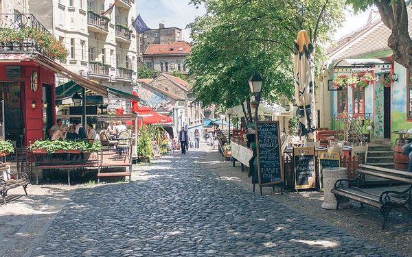Bělehrad - Paříž Balkánu, Bělehrad, letecky, snídaně v ceně4