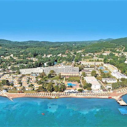 Řecko - Korfu letecky na 8-16 dnů, all inclusive