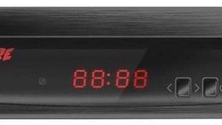 Zircon FIRE s DVB-T2 s HEVC (H.265) černý