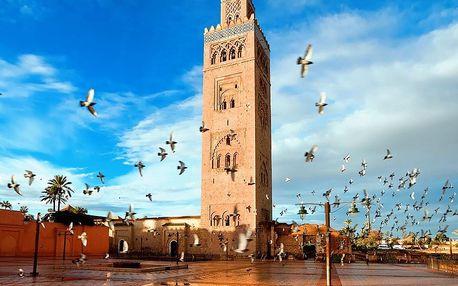 Maroko - OKRUH KRÁLOVSKÝMI MĚSTY MAROKA – AKCE SENIOR 50+ na 8 dní, polopenze s dopravou letecky z Prahy