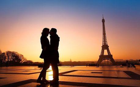 Francie, Paříž VALENTÝNSKÝ TÝDEN 2020, poznávací zájezd, romanti..., Île-de-France