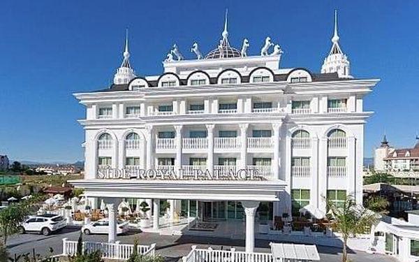 Side Royal Palace, Turecká riviera, letecky, all inclusive2