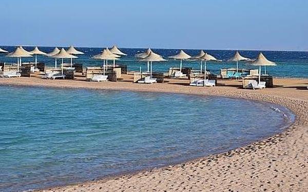 Coral Beach, Egypt - Hurghada, letecky, all inclusive4