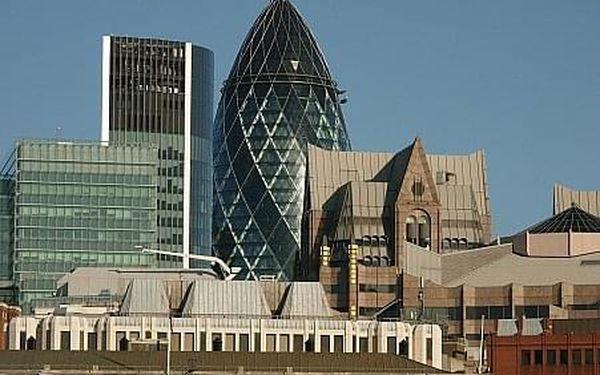 Londýn - Perla na řece Temži, Londýn a okolí, letecky, snídaně v ceně3