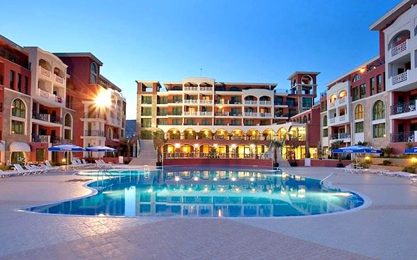 Hotel Saint George Palace, Burgas, letecky, all inclusive2