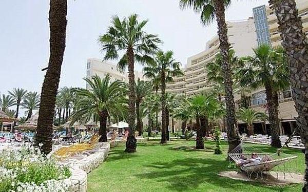 Riadh Palms, Tunisko, letecky, all inclusive5