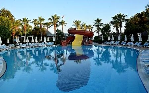 Palmeras Beach Hotel, Turecká riviera, letecky, all inclusive2