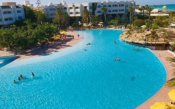 lti Mahdia Beach, Tunisko, letecky, all inclusive5
