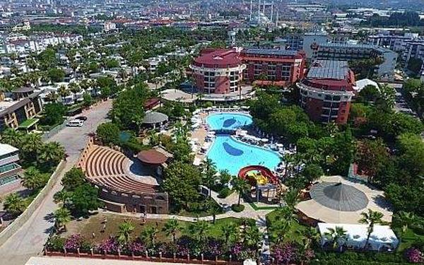 Palmeras Beach Hotel, Turecká riviera, letecky, all inclusive3