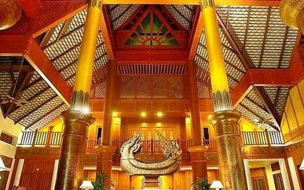 Cha Da Thai Village Resort, Krabi, letecky, snídaně v ceně2