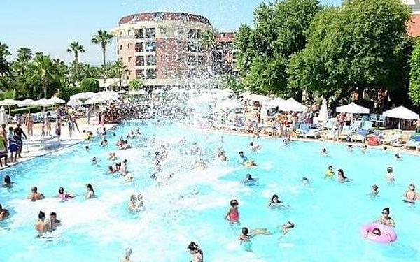 Palmeras Beach Hotel, Turecká riviera, letecky, all inclusive4