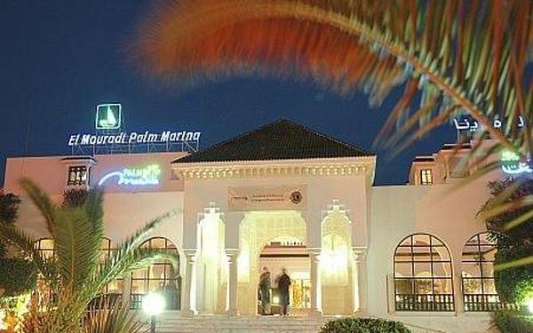 El Mouradi Palm Marina, Tunisko, letecky, all inclusive5