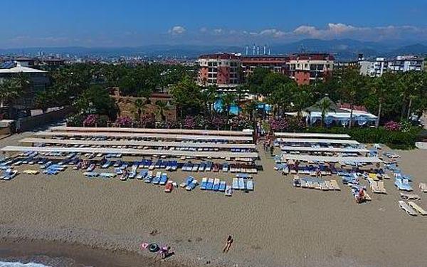 Palmeras Beach Hotel, Turecká riviera, letecky, all inclusive5