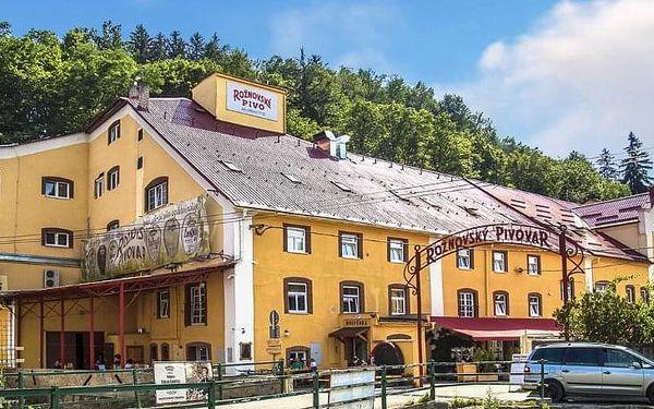 Romantická VIP pivní péče v křišťálové kapli pro 2 s polopenzí a návštěvou obchůdku Málkovy čokoládovny s ubytováním2