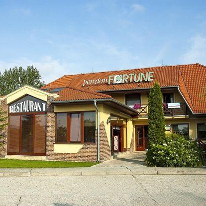 Jižní Slovensko: Penzión Fortune