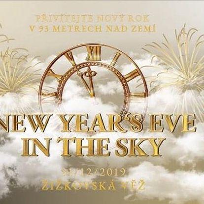 Silvestr 2019 na Žižkovské věži