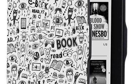 Pouzdro pro čtečku e-knih Connect IT Doodle pro Amazon Kindle Paperwhite 1/2/3 bílé (CEB-1031-WH)