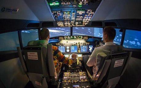 Letecký simulátor Boeing 737 NG a výběr z více než 20 tisíc letišť po celém světě