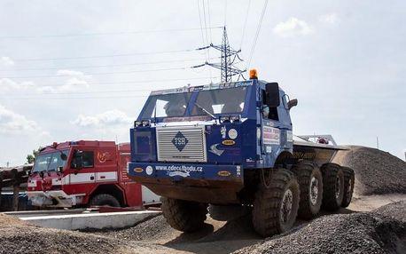 Jízda Tatrou 813 v terénu