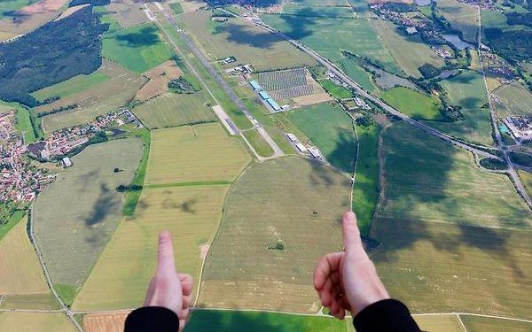 Tandemový seskok z cca 4000 m, cca 3 hodiny, počet osob: 1 osoba, Most (Ústecký kraj)5