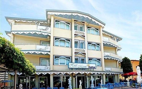Itálie, Caorle: Hotel Maxim