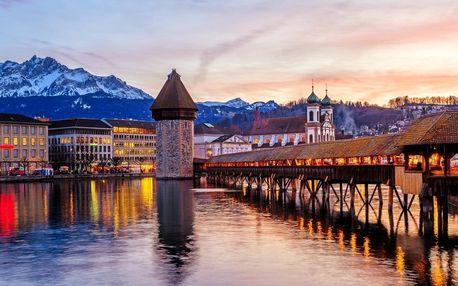 Adventní výlet do Švýcarska za nejstrmější zubačkou světa