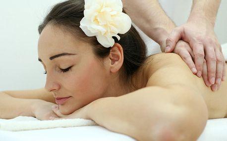 Relaxační masáž dle výběru: záda, šíje, ruce či nohy