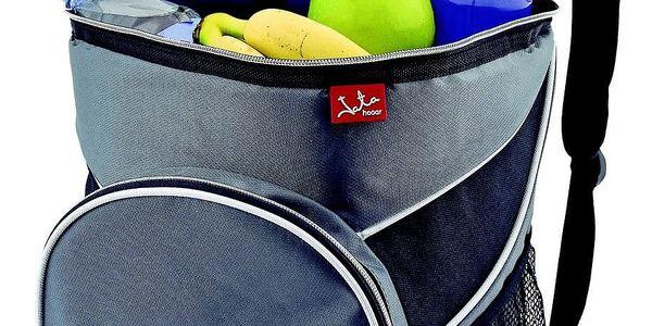 Chladící taška JATA 985 šedá/modrá4