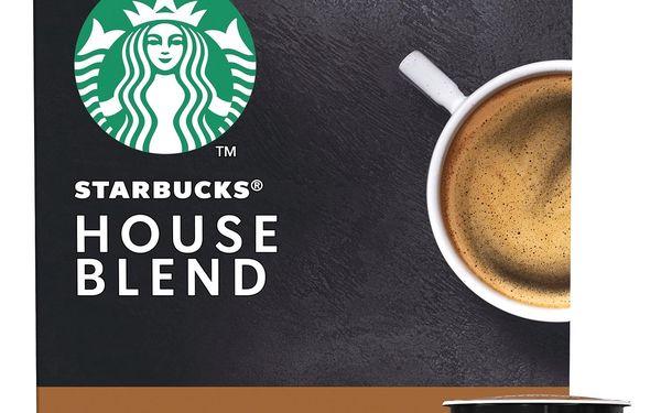 Kapsle pro espressa Starbucks MEDIUM HOUSE BLEND 12Caps4