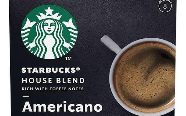 Kapsle pro espressa Starbucks MEDIUM HOUSE BLEND 12Caps