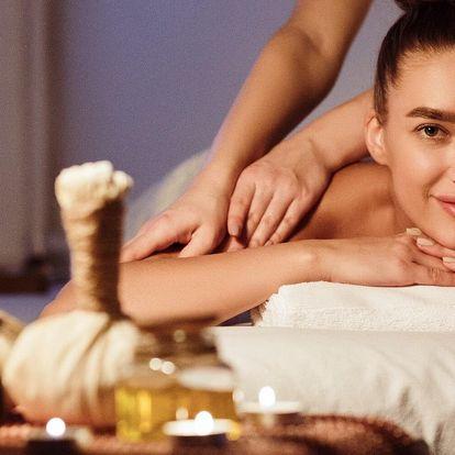 Královská thajská olejová masáž: 60 nebo 90 minut