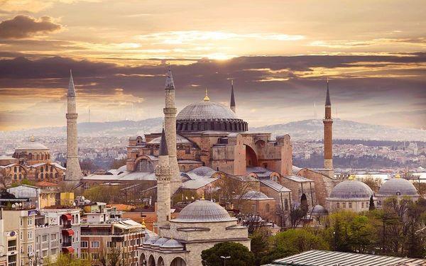 Istanbul - Brána Orientu, letecky, snídaně v ceně3