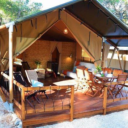 Chorvatsko - Mali Lošinj: Losinj Glamping Tents