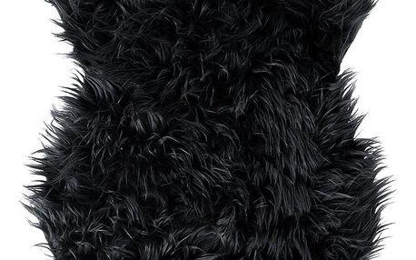 Koopman Kožešina černá, 50 x 90 cm