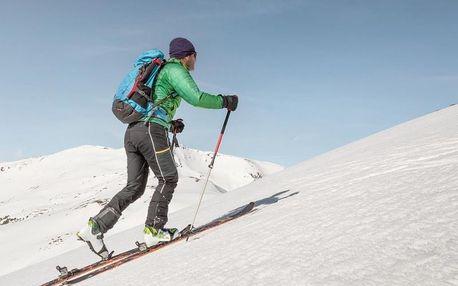 Celodenní intenzivní kurz skialpinismu v Krkonoších nebo Krušných horách