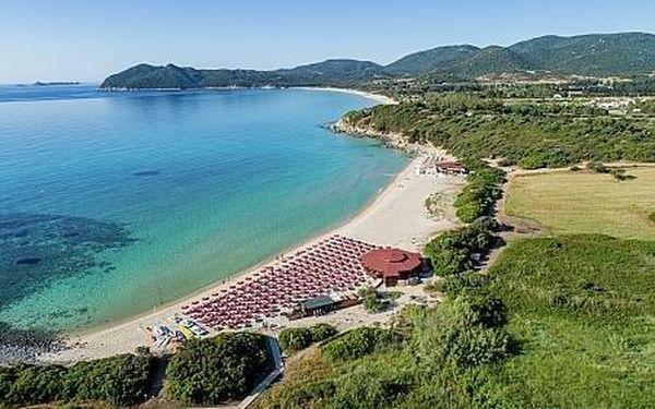 Sant´ Elmo Beach, Sardínie, letecky, plná penze2