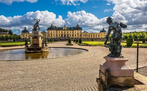 Švédsko - země barevných měst, lesů a vody, letecky, snídaně v ceně2