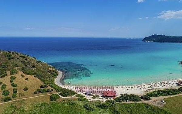 Sant´ Elmo Beach, Sardínie, letecky, plná penze5