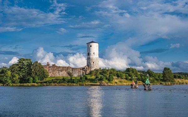 Švédsko - země barevných měst, lesů a vody, letecky, snídaně v ceně4