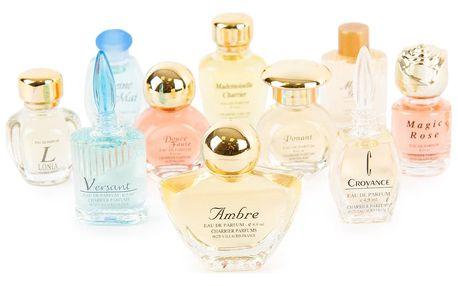 Dárková sada francouzských parfémů Charrier Parfums, 10 ks