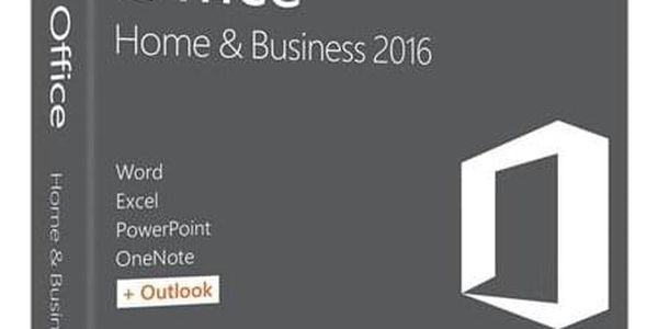 Microsoft Office 2016 pro domácnosti a podnikatele pro MAC CZ (W6F-00999)