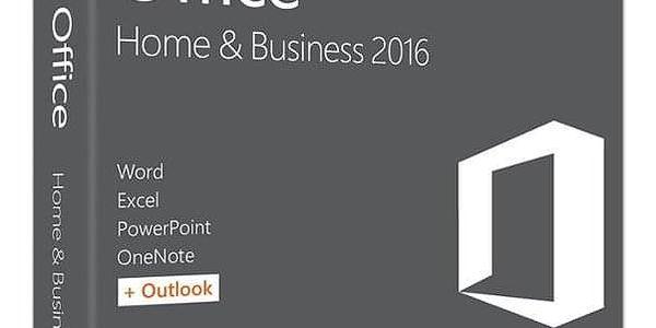 Software Microsoft Office 2016 pro domácnosti a podnikatele pro MAC CZ (W6F-00999)2