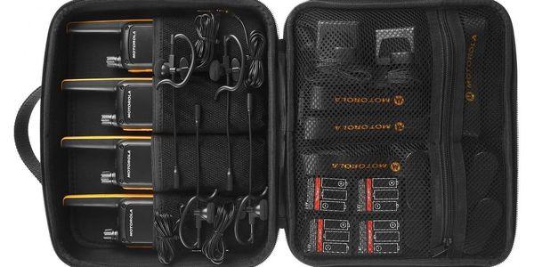 Vysílačky Motorola TLKR T82 Extreme Quad Pack (B8P00810YDEMAQ) černý/žlutý + DOPRAVA ZDARMA2