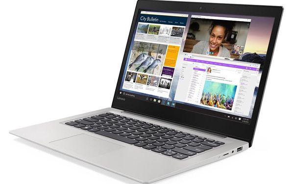 Notebook Lenovo S130-14IGM šedý + MS Office 365 pro jednotlivce (81J20047CK) + DOPRAVA ZDARMA2